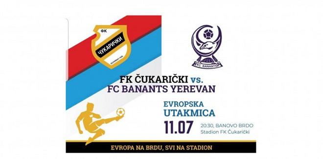 Kvalifikacije za Ligu Evrope: Čukarički - Banants