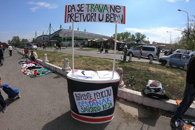 Beograđani poručili administraciji: Savski kej po meri građana