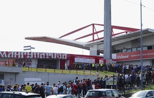 Plej-of za Ligu šampiona: Crvena zvezda - Jang bojs (foto: FK Crvena zvezda)
