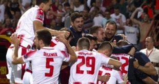 Crvena zvezda u Ligi šampiona (foto: FK CZ)