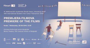 Dvorana KCB: Interakcija 2019 - premijera filmova