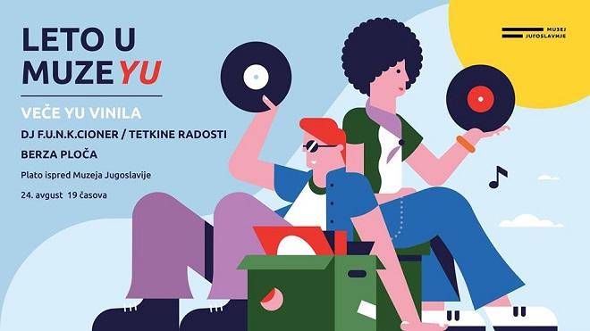 Leto u Muzeju 2019: Veče YU vinila