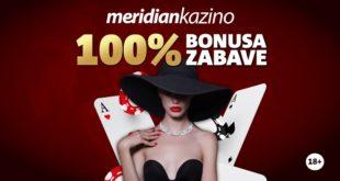 Samo na meridianbet.rs: Ne propusti dupli keš na kazinu