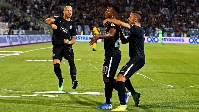 ZA EVROPSKU JESEN: Partizan i remi vodi u grupnu fazu Lige Evrope (foto: Peđa Milosavljević / STARSPORT)