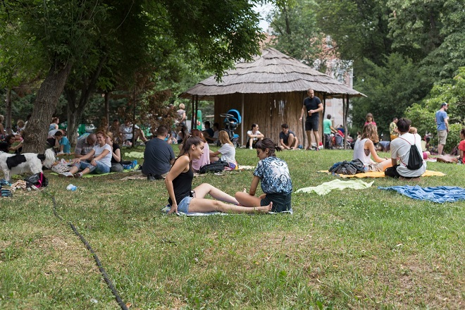 Piknik u MAU - repriza (foto: Aleksa Vitorović)