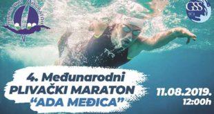 """4. Međunarodni plivački maraton """"Ada Međica"""""""