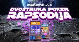 Meridianbet: Dvostruka poker rapsodija