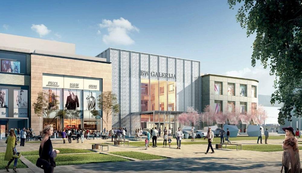 Tržni centar Galerija (3D prikaz)