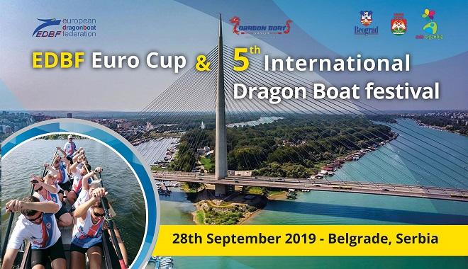 Dragon boat: Prvi Euro Cup i 5. Dragon Boat Festival
