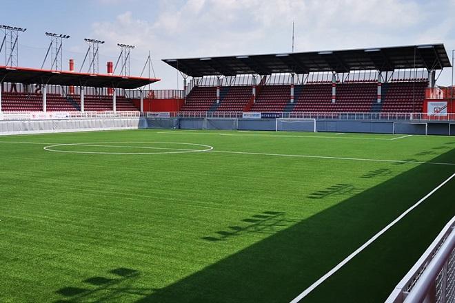 Kup Srbije u fudbalu 2019/20: Stadion Voždovca (foto: FSS)