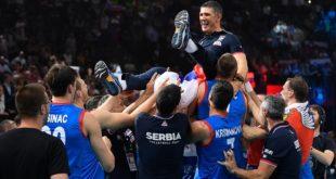 Odbojkaši Srbije još jednom osvojili Evropsko prvenstvo (foto: cev.eu)