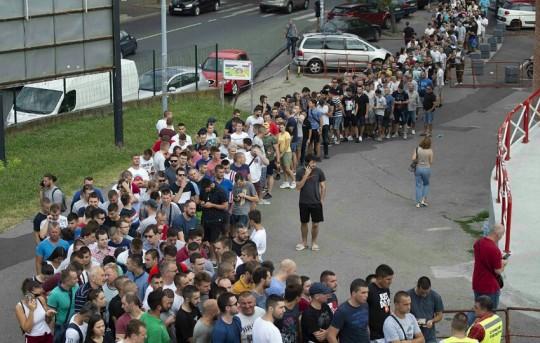 Liga šampiona 2019/20: Ulaznice za utakmice Crvene zvezde u Beogradu