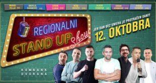 Regionalni stand up show u Kombank dvorani