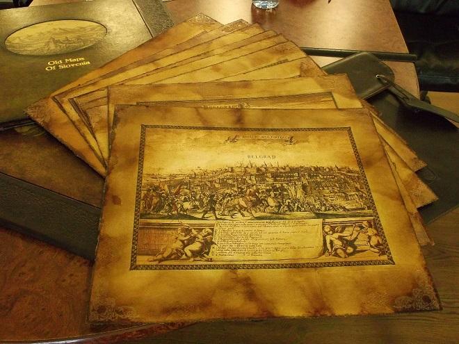 Stare mape u Stambol kapiji