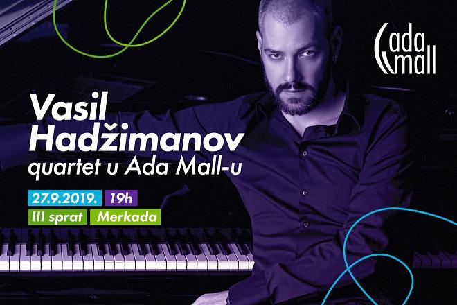 Najbolja jazz svirka ovog vikenda: Vasil Hadžimanov kvartet u Ada Mall-u