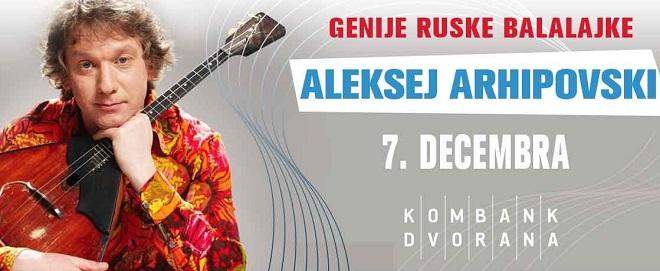 Aleksej Arhipovski - genije ruske balalajke u Beogradu