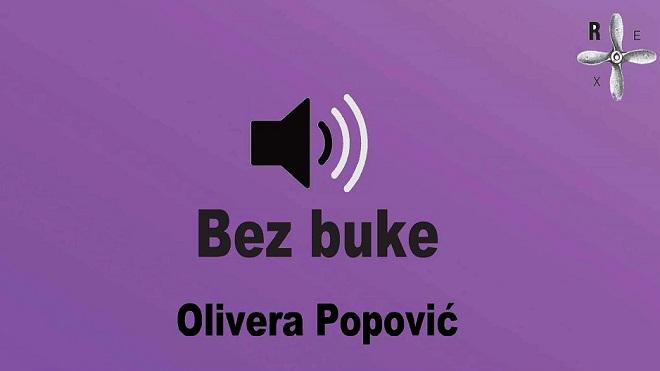 Bez buke: Olivera Popović u KC Rex