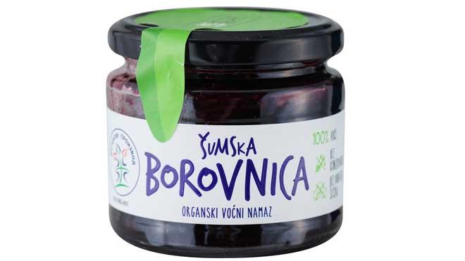 dm inkubator: Nisha - Organiski voćni namaz od borovnice
