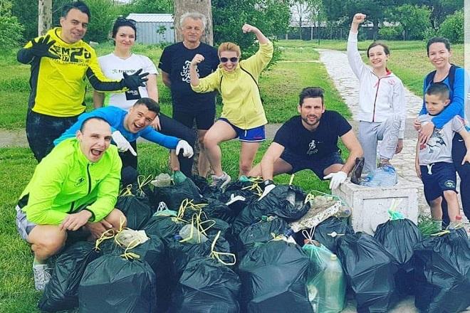 Prvi Glanc Run u Beogradu: Trčanjem do čistijeg grada (foto: promo)