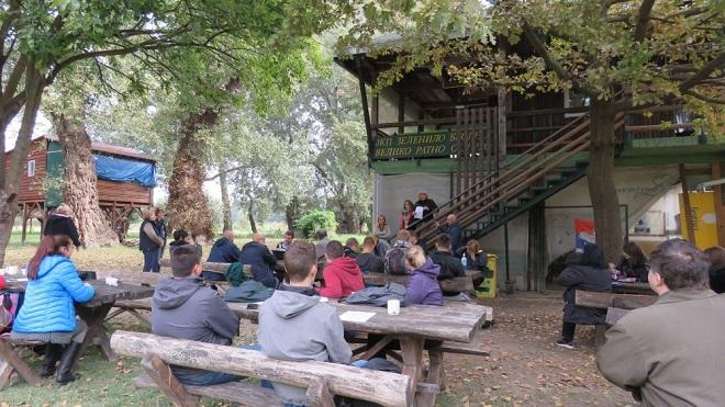 Jesenji kamp 2019 na Velikom ratnom ostrvu (foto: zelenilo.rs)