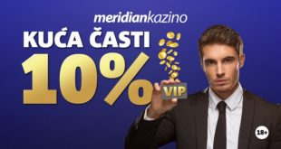 Meridian: nova promocija VIP Money Back 10%