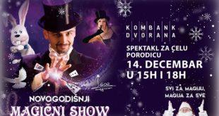 Novogodišnji magični show u Kombank dvorani