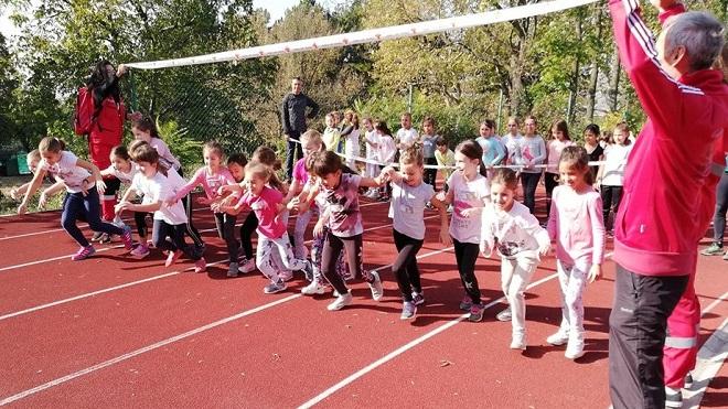 Crveni krst: Trka za srećnije detinjstvo (foto: GO Čukarica)
