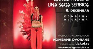 Plesni spektakl trupe Una Saga Serbica u Kombank dvorani