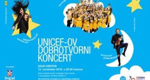 UNICEF-ov dobrotvorni koncert: Kolibri, Stefan Milenković i Nemanja Radulović