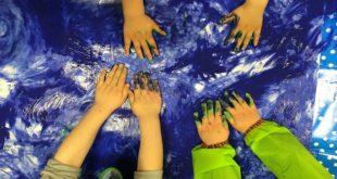 Dan opštine Zvezdara: Zvezdarski ažuri 2019 - radionica slikanja prstima