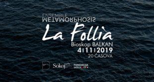 """Ansambl Metamorphosis: Koncert """"La Follia"""" u bioskopu Balkan"""