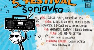 V Festival šonjavka u Beogradu