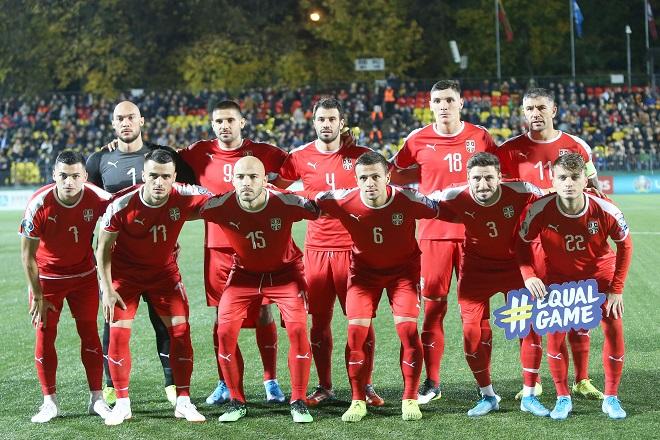 Fudbalska reprezentacija Srbije (foto: FSS)