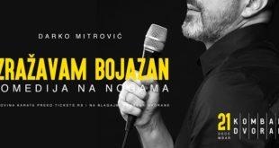Kombank dvorana: Darko Mitrović - Izražavam bojazan