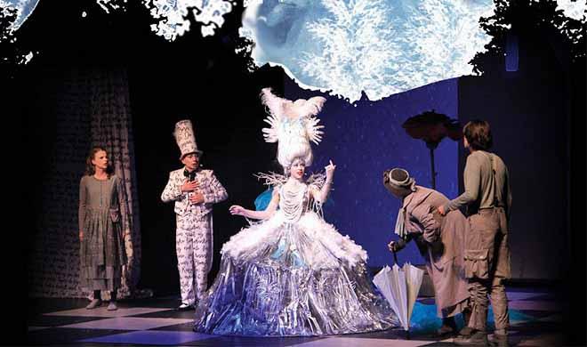"""Kombank dvorana: Novogodišnja predstava za decu """"Snežna kraljica"""""""