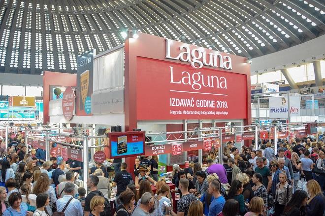 Laguna - najbolji izdavač 64. Međunarodnog sajma knjiga