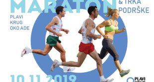 Plavi krug oko Ade: osmi maraton i trka podrške obolelima od dijabetesa