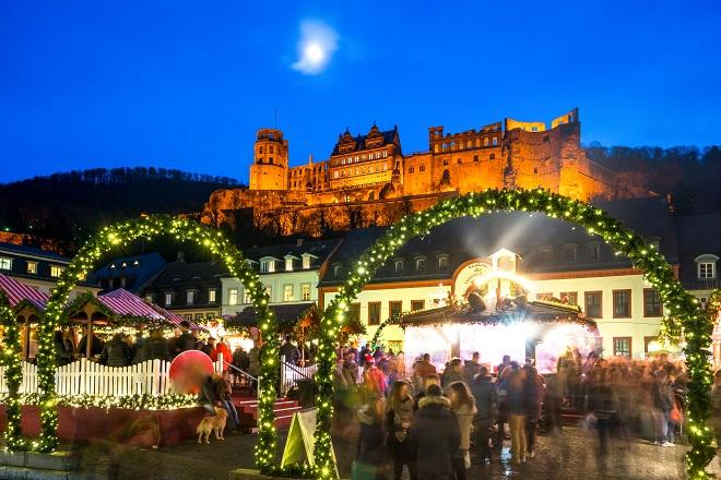 Bajkoviti doček Nove godine: Hajdelberg, Baden Baden
