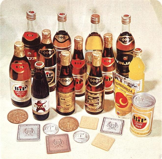 Tri veka pivarstva u Beogradu; BIP-ovi proizvodi