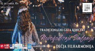 Dečja filharmonija: Novogodišnja simfonija u Sava centru