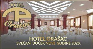 Doček Nove godine 2020: Hotel Orašac