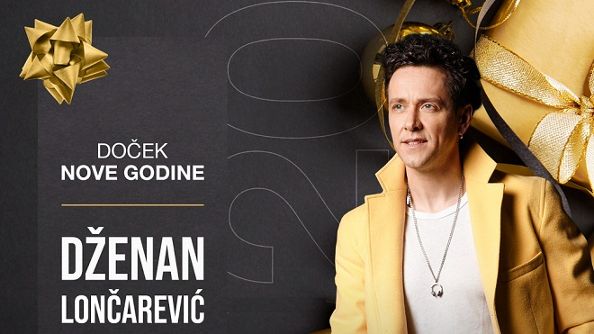 Doček Nove godine 2020. u Zemunu: Dženan Lončarević