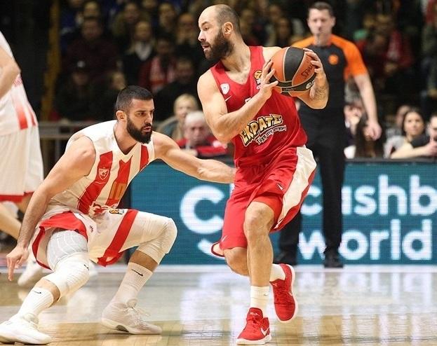 Evroliga, 2019-20: Crvena zvezda - Olimpijakos (foto: KK CZ)
