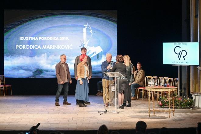 Kreativni centar dobitnik Nagrade Izuzetna porodica 2019: porodica Marinković