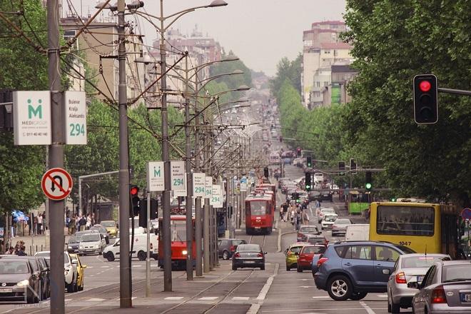 Nove žute trake u Beogradu - zbog boljeg protoka javnog gradskog prevoza