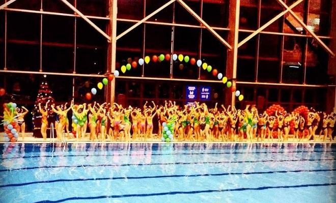 Sinhrono plivanje: 27. Novogodišnji bal na vodi