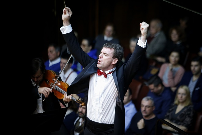 "Beogradska filharmonija i Gabrijel Felc: ""Revolucionarni"" koncert (foto: Marko Đoković)"