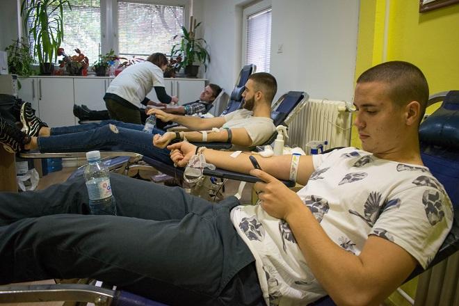 Institut za transfuziju krvi Srbije - dobrovoljno davanje krvi