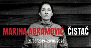 "Izložba ""Čistač"" Marine Abramović - poslednji dan"