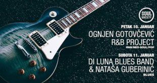 Soul Society: Ognjen Gotovčević i Di Luna Blues Band & Nataša Guberinić